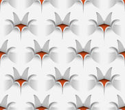 Flower Seamless Pattern, Vector Illustration. Royalty Free Stock Photography