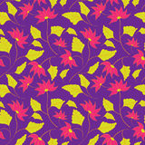 Flower seamless spring pattern Stock Photography