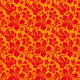 Flower Seamless Texture. For vacation fabric Stock Images