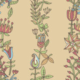 Flower seamless texture.  Endless floral pattern. Can be used for wallpaper Royalty Free Stock Photos