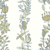 Flower seamless texture.  Endless floral pattern. Can be used for wallpaper Stock Photo