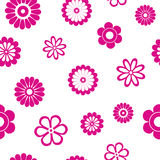 Flower seamsless pattern Stock Image
