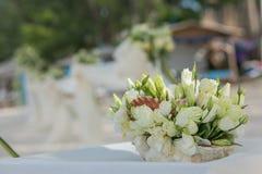Flower setting Stock Photography