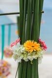 Flower setting Stock Images