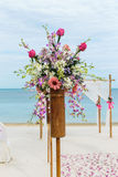 Flower setting Stock Photos