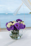 Flower setting Royalty Free Stock Image