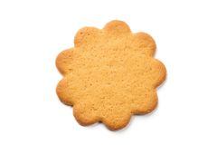 Flower shaped sugar cookie Royalty Free Stock Photography