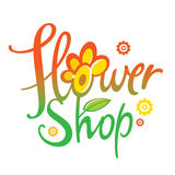 Flower Shop. Nature floral business gift store Stock Photos