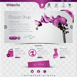 Flower shop stock illustration