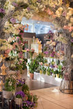 Flower Shop. Beautiful colorful flowers in flower shop Royalty Free Stock Image
