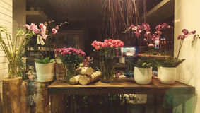 Flower shop stock images