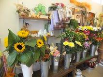 Flower shop Stock Photo