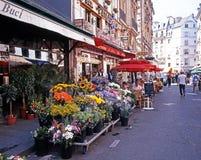 Flower shop, Paris. Royalty Free Stock Photo