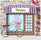 Flower shop. Stock Photo
