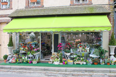 Flower shop in Verneuil-sur-Avre. Stock Photography