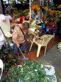Flower Shops in Market Market in Bonifacio Global City Stock Photo