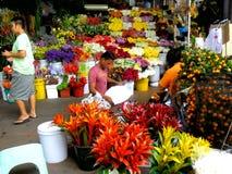 Flower Shops in Market Market in Bonifacio Global City Royalty Free Stock Photo
