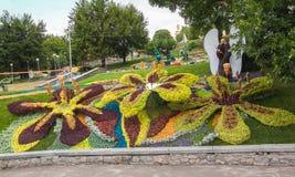 Flower Show Landscape Park in Kiev Royalty Free Stock Images