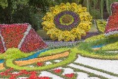 Flower Show Landscape Park in Kiev Stock Image