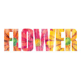 Flower sign Royalty Free Stock Images