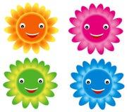 Flower smile Royalty Free Stock Photo