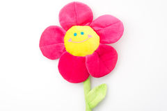 Flower with smile face Stock Photography