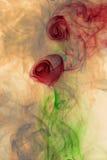 Flower smoke Stock Photos