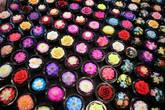 Flower soap Royalty Free Stock Photography