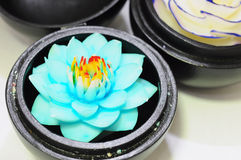 Flower souvenir made of soap from Royalty Free Stock Images