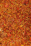 Flower spices. A set of fragrant spices, background Stock Photography