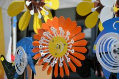 Flower spinner Royalty Free Stock Photos