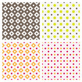 Flower Square Seamless Pattern Background Royalty Free Stock Photos