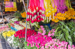 Flower stall Stock Images