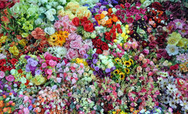 Flower stall at Ben Tanh Market. Stock Photo