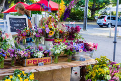 Flower Stand Royalty Free Stock Photo