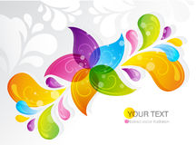 Flower star abstract ornament. Vector illustration Royalty Free Stock Photography