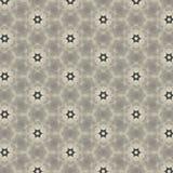 Flower or star shape pattern design Stock Images