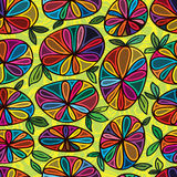 Flower stone seamless pattern Royalty Free Stock Photography