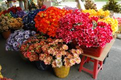 Flower store royalty free stock photography