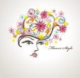 Flower Style. Stock Image