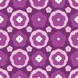 Flower style different seamless pattern Stock Photography