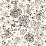 Flower summer pattern Stock Images