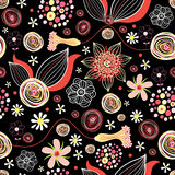 Flower summer pattern Royalty Free Stock Photography