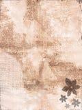 Flower surface. Sepia vintage flower grunge surface Stock Image
