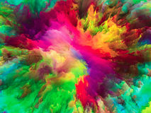 The Flower of Surreal Paint Royalty Free Stock Photo