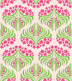 Flower Swirl Pattern Royalty Free Stock Photography