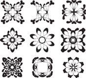 Flower symbols Stock Photography