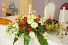 Flower Table Decoration Stock Photography