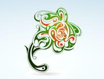 Flower tattoo Royalty Free Stock Image