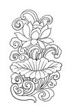 Flower tattoo Stock Photos